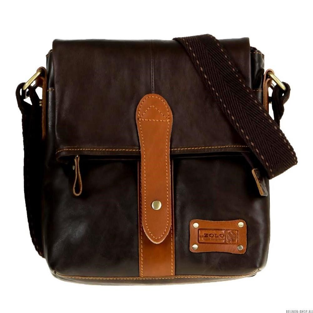 441400bbf2d5 Сумка-планшет мужская Zolo 21732, натуральная кожа 23х28х6 см Beurer ...
