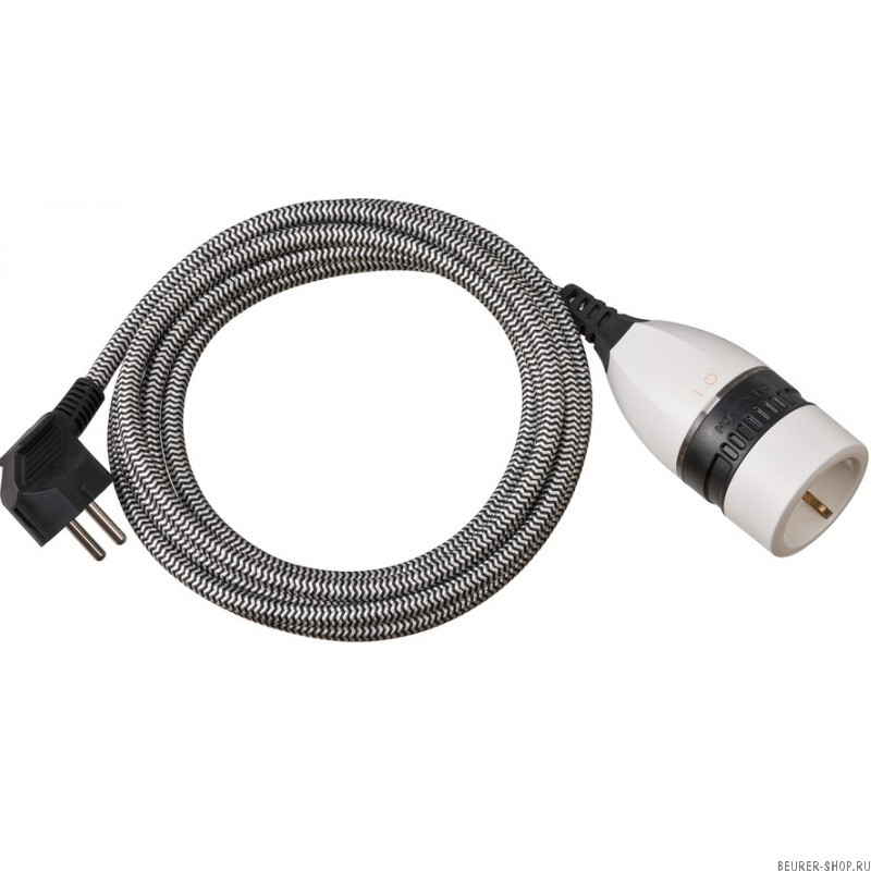 Удлинитель-переноска Brennenstuhl Quality Plastic Extension Cable (3 м., 1 роз., черный, 1161830)